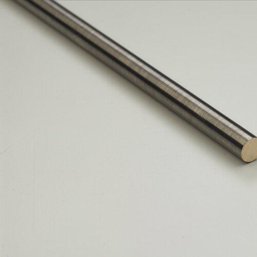 Zoroufy Heritage Solid Stair Rod Set Regular Brackets Acorn Finial