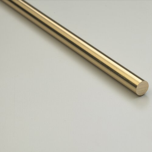 "Zoroufy Heritage 28.5"" Solid Stair Rod Set Regular Brackets Pineapple Finial"