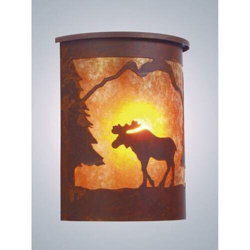 Steel Partners Moose 1 Light Outdoor Wall Lantern