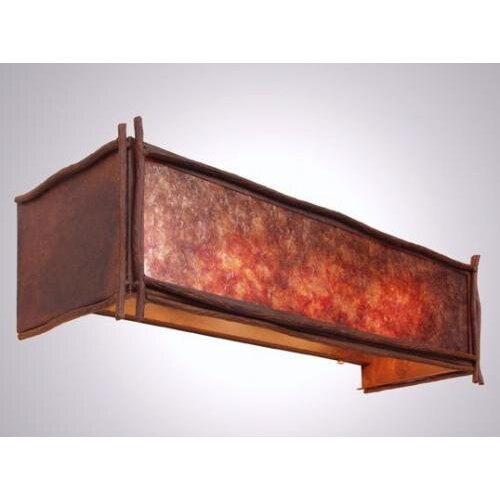 Steel Partners Sticks 4 Light Vanity Wall Sconce