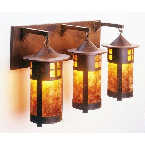 Steel Partners Pasadena 3 Light Vanity Wall Sconce