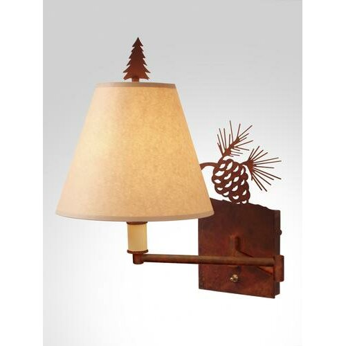 Steel Partners Pinecone Swing Arm Wall Lamp