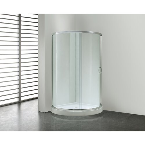 Ove Decors Breeze Premium Sliding Door Shower Package Without Walls