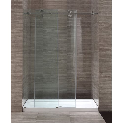 Ove Decors 60'' Glass Sliding Door Shower Enclosure