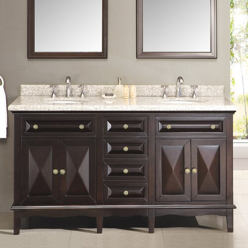 Ove Decors Venice 60 Double Bathroom Vanity Set Reviews Wayfair