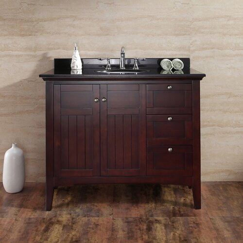 Gavin 42'' Bathroom Vanity Ensemble Set