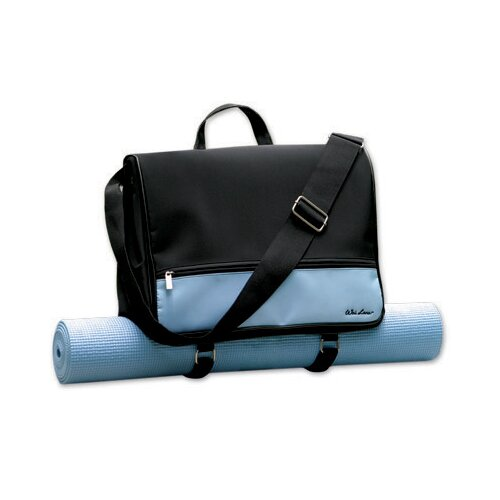 Wai Lana Blue Pilates Yoga Metro Bag with Yogi Mat