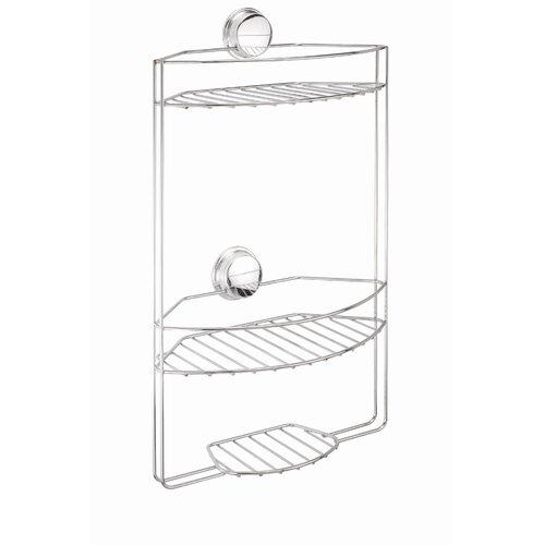 Croydex Twist N' Lock Chrome 3 Tier Basket