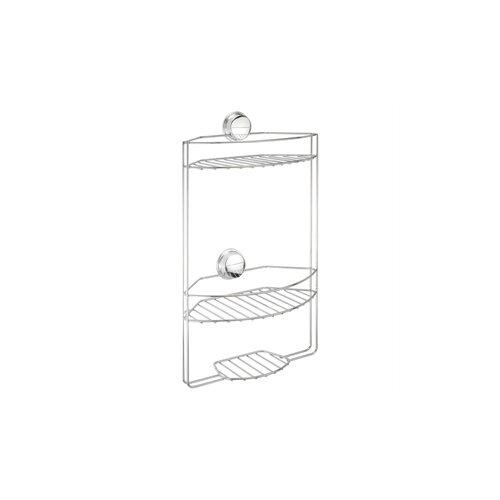 Croydex Stick 'N' Lock 3 Tier Basket