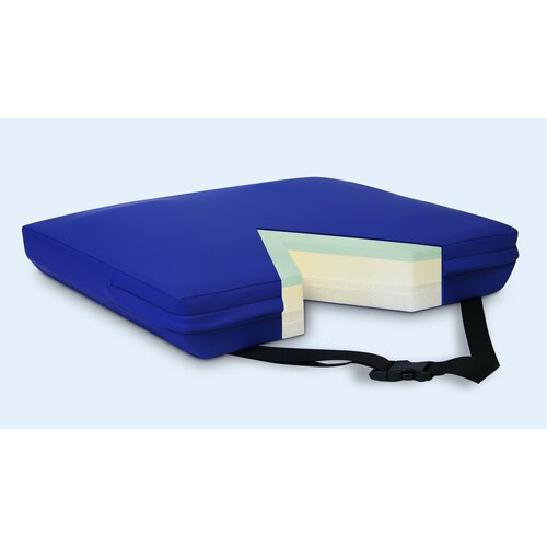 NYOrtho Apex Core Coccyx Gel-Foam Cushion in Royal Blue