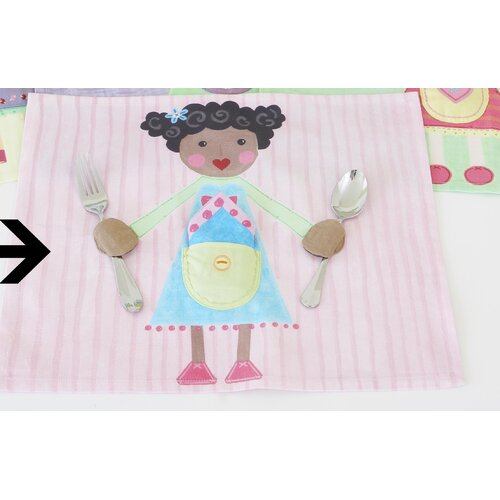 Blue Girl Placemat