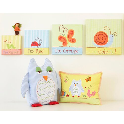 Alphabet Adventure Owl Pillow