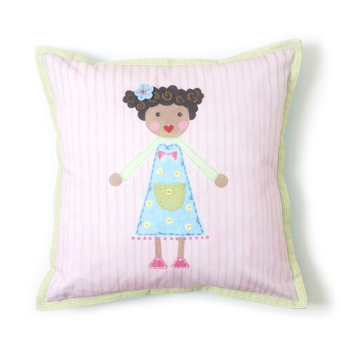 The Little Acorn Girl Pillow