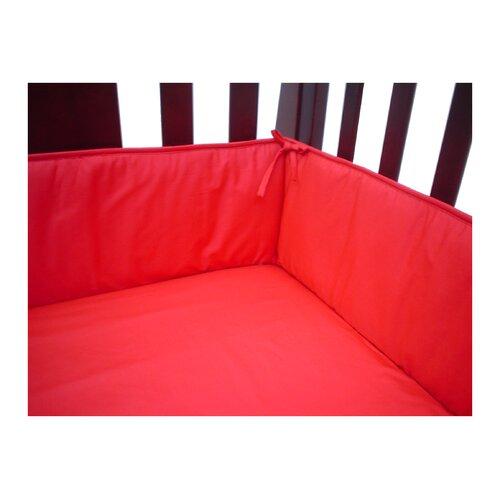 Percale Crib Bumper