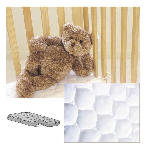 American Baby Company Waterproof Quilted Mini Crib Mattress Pad