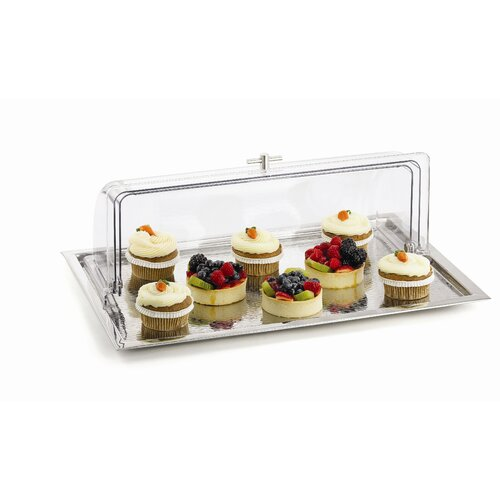 Revolving Cake Stand With Lid