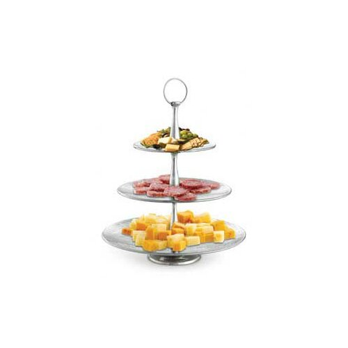 Tablecraft Remington Three Tiered Round Serving Set
