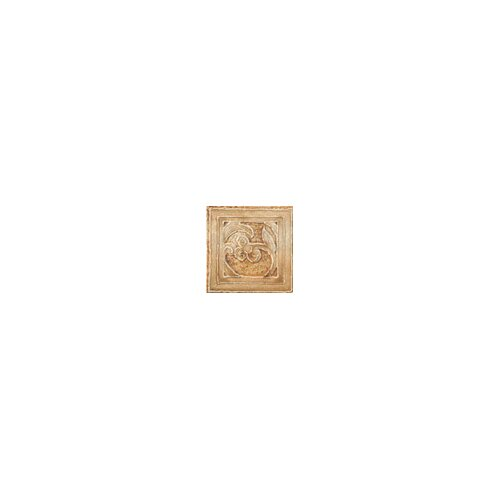 "Marazzi Aida 3"" x 3"" Corner Insert in Tebe Brown Gold"