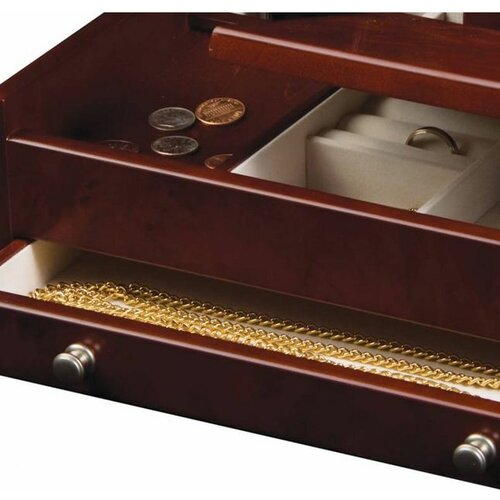 Tori Home Davin Men's Dresser Top Jewelry Box