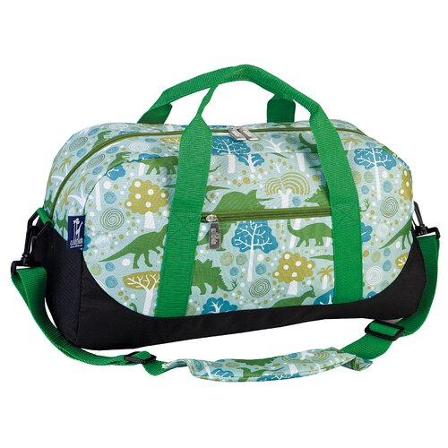 Wildkin Ashley Dinosaur Duffel Bag