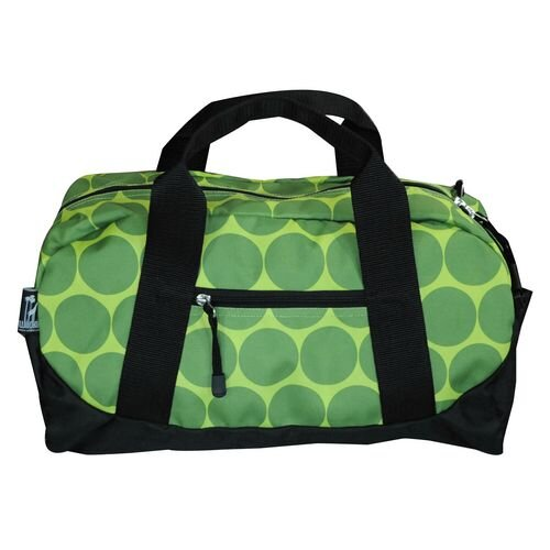 Astronaut Big Dots Kid Duffel Bag