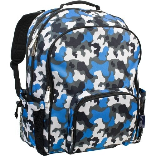 Wildkin Camo Blue Macropak Backpack