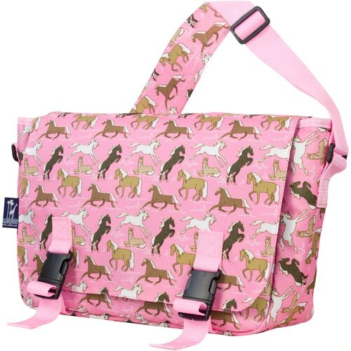 Jumpstart Horses Messenger Bag