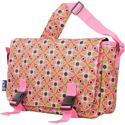 Jumpstart Kaleidoscope Messenger Bag