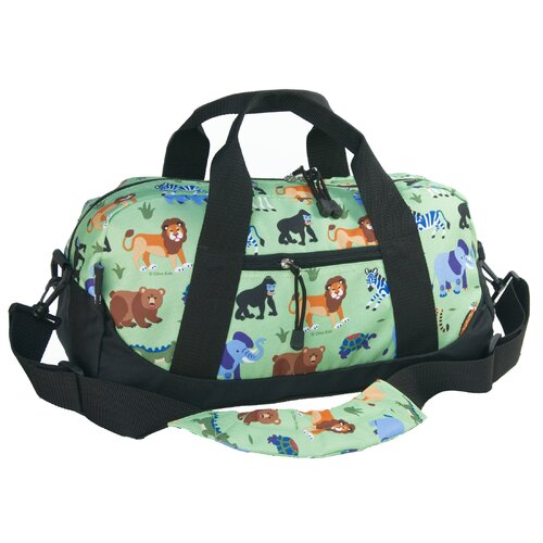 Olive Kids Wild Animals Duffel Bag