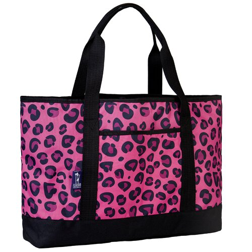 Wildkin Ashley Leopard Tote Bag