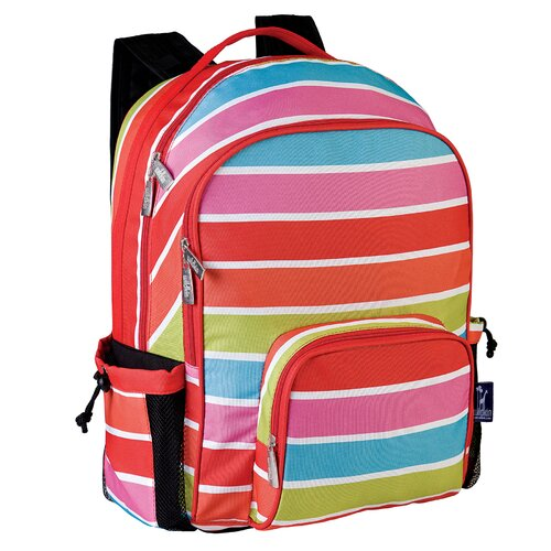 Wildkin Ashley Bright Stripes Macropak Backpack