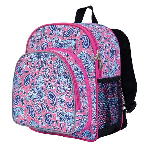 Wildkin Ashley Ponies Pack 'n Snack Backpack
