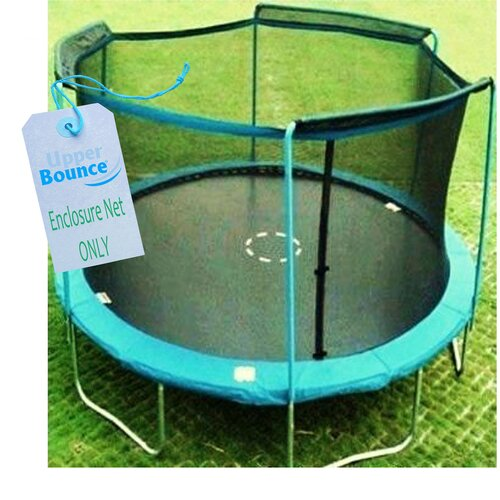 Upper Bounce 12' Round Trampoline Net Using 4 Arches