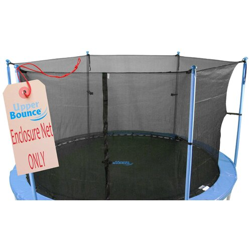 Upper Bounce 14' Round Trampoline Net Using 6 Poles or 3 Arches