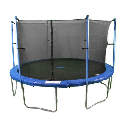 Upper Bounce 15 Trampoline With Enclosure Amp Reviews Wayfair