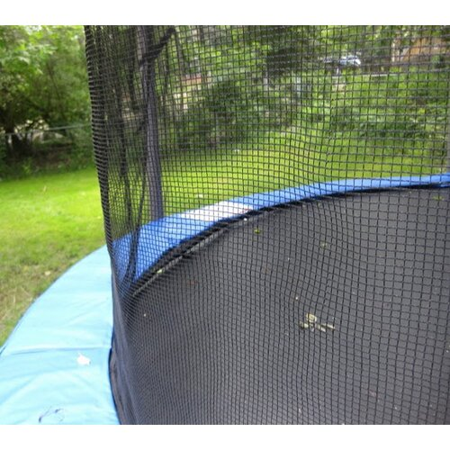 Upper Bounce 12' Trampoline Net Using 4 Straight Poles