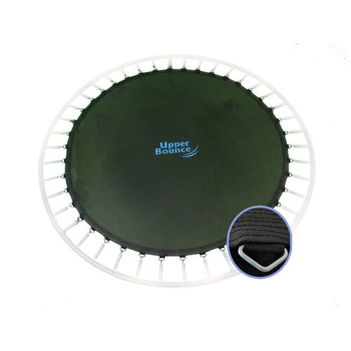 """Upper Bounce Jumping Surface for 14' Trampolines with 72 V-Rings for 5.5"""" Springs"""