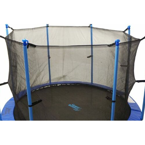 Upper Bounce 14' Round Trampoline Net Using 8 Poles or 4 Arches