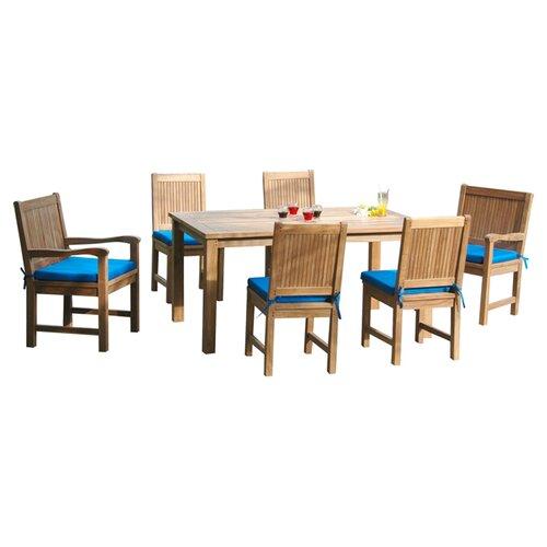 Anderson Teak Montage 7 Piece Dining Set