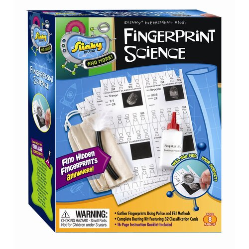 POOF-Slinky, Inc Fingerprint Kit / Secret Messages - Combo Pack