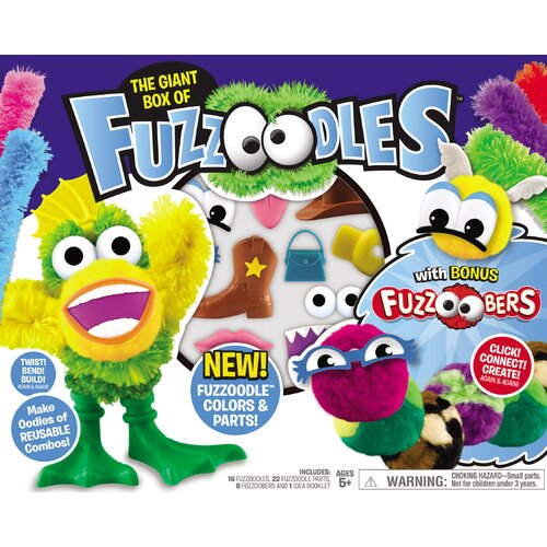 POOF-Slinky, Inc Fuzzoodles Big Box Set with Bonus Fuzzoobers