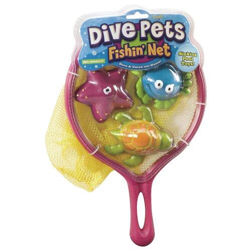 POOF-Slinky, Inc Dive Pet Fishing Net Pool Toy