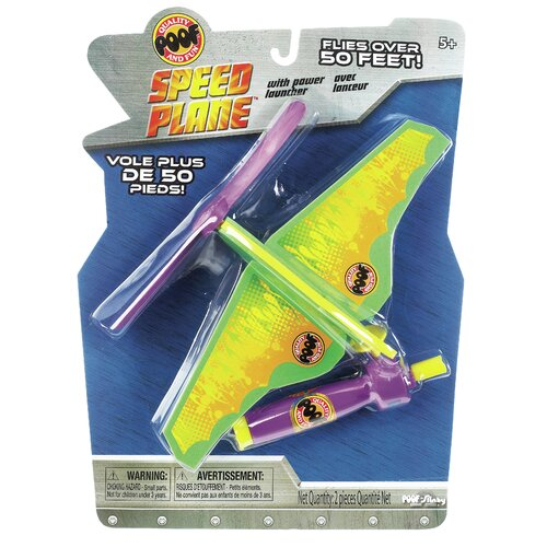 POOF-Slinky, Inc Turbo Spin Speed Plane