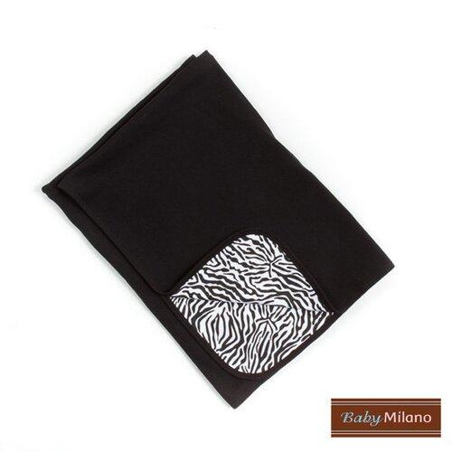 Baby Milano Baby Blanket in Zebra Print