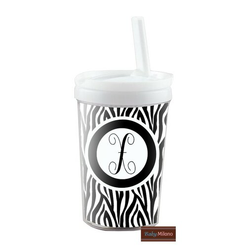 8 oz Zebra Kid's Tumbler