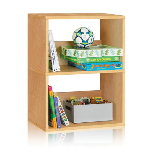 Way Basics Way Basics Eco 2 Shelf Duplex Bookcase and Storage Shelf