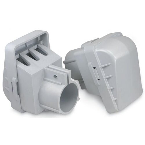 "Morris Products 2"" PVC Entrance Caps for Conduit"