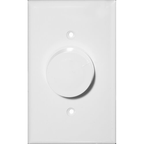 Morris Products Rotary Single Pole Dimmer in White