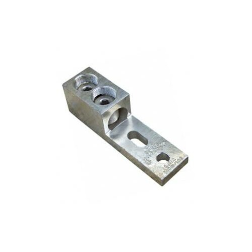 Morris Products Aluminum Mechanical Lugs 1 Conductor and Two Hole Mount 600MCM