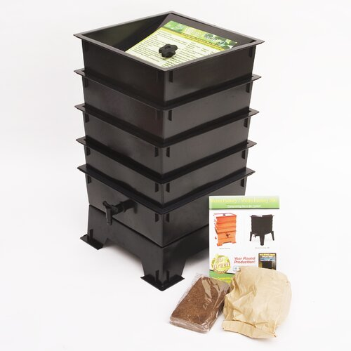Worm Factory 4 Tray Composter